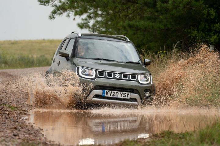 В Украине продают первый гибрид Suzuki