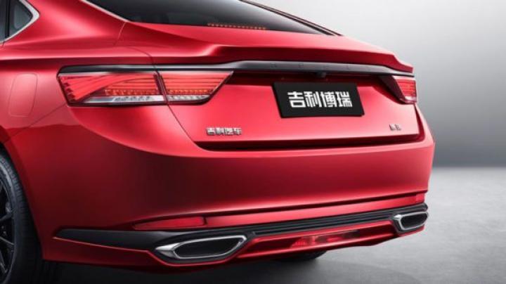 Geely показала обновленную версию седана Emgrand GT (фото)