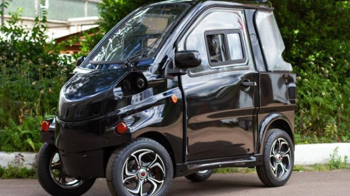 Украинская компания «Электропрайд» представила электромобиль ELMIZ mini стоимостью 00 (фото)