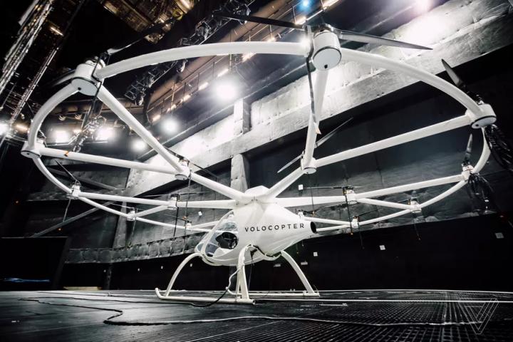 Летающее такси Volocopter принимает бронирование на первые полеты: известны цены (фото)