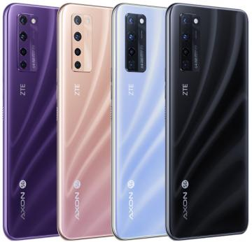 ZTE Axon 20 5G стал первым смартфоном с «невидимой» фронтальной камерой (фото)