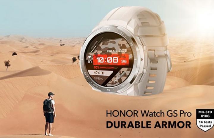 Honor представил свои первые защищенные смарт-часы Watch GS Pro (фото)