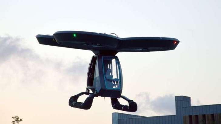 В ходе испытаний летающее авто поднялось на 10 метров