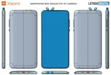 Xiaomi придумала «рогатый» смартфон с двумя двусторонними выдвижными камерами