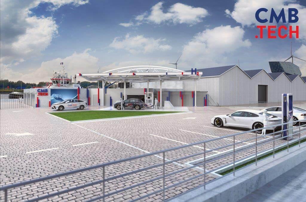 В Бельгии строят первую в мире универсальную водородную заправку