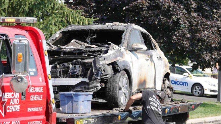 В Южной Корее отзывают 25 тыс. Hyundai Kona после 13 случаев возгорания (фото)