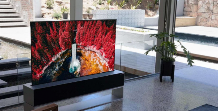 LG представила телевизор, который можно свернуть в рулон (фото)