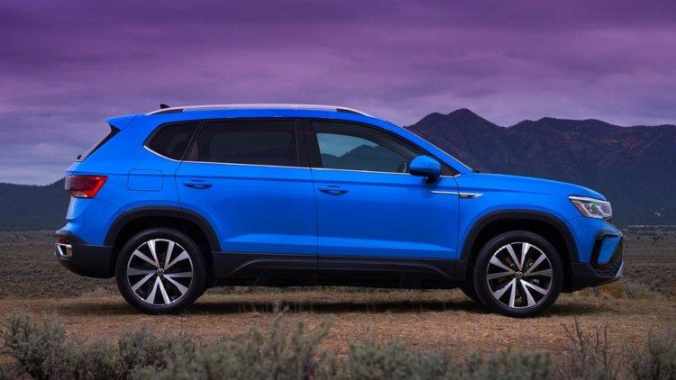 Официально презентовали новый кроссовер Volkswagen Taos (Фото)
