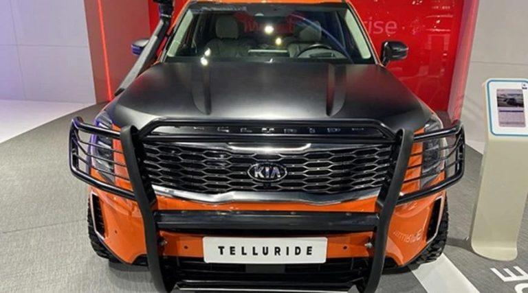 У Kia Telluride появилась экстремальная версия (фото)