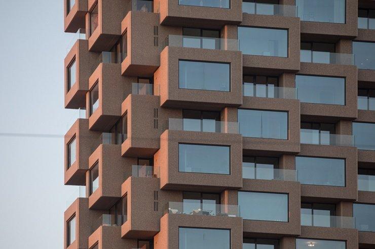 Лучшим небоскребом в мире признан жилой комплекс из модульных кубиков в Стокгольме (фото)