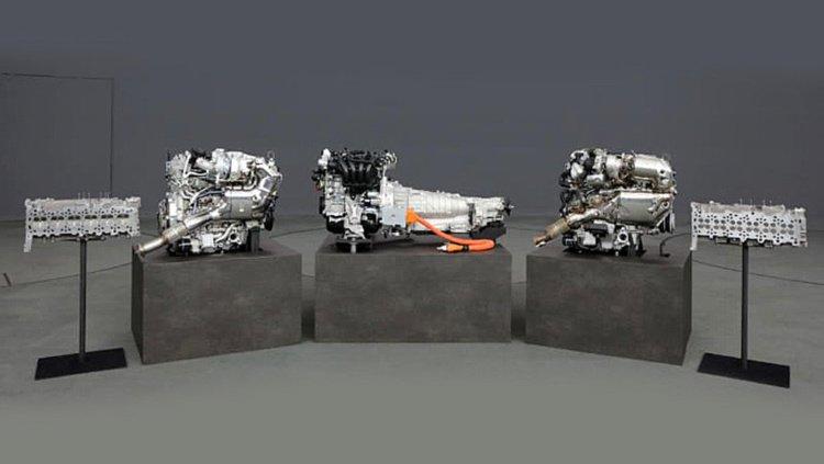 Mazda выпустит три новых двигателя