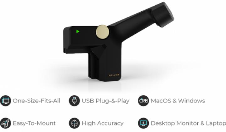 Создано устройство для превращения любого экрана в сенсорный