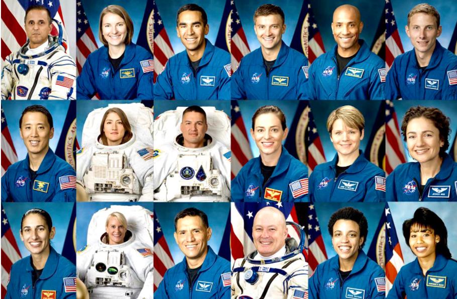 В NASA выбрали астронавтов, которые должны высадиться на Луну в 2024 году (фото)