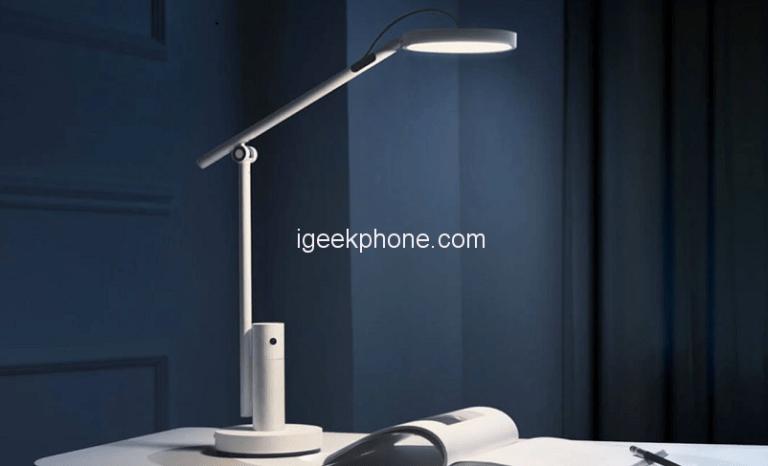 Xiaomi выпустила настольную лампу с камерой для видеозвонков