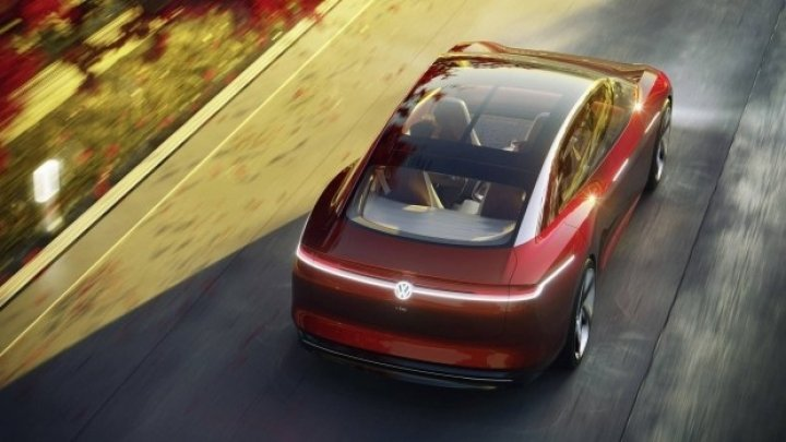 VW выпустит конкурента Tesla Model S (концепт)