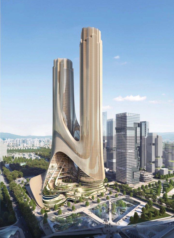 В Китае построят 400-метровый инновационный эко-небоскреб (фото)