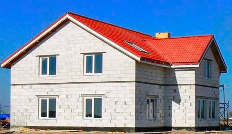 Профессиональное строительство домов из газобетона в Москве