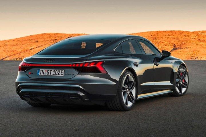 Audi представила новый электрокар