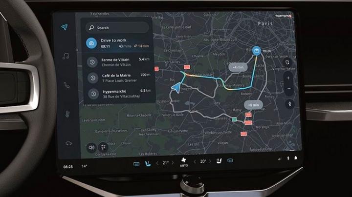TomTom представил новую навигационную систему для авто