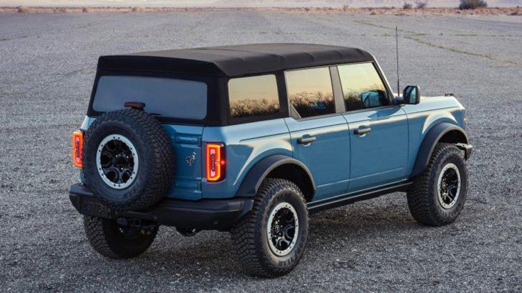 Компания Ford собрала много заказов на модель Bronco (фото)