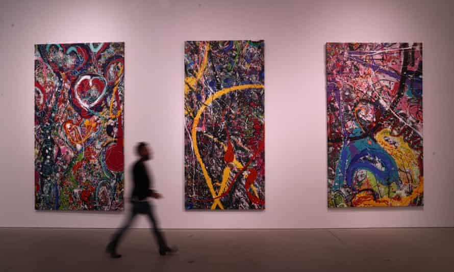 Продана самая большая в мире картина за 62 млн дол. (фото)
