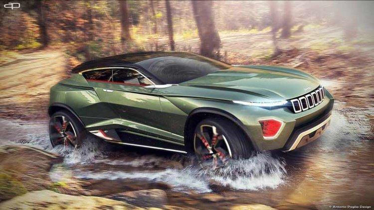 Jeep представит новую компактную модель внедорожника (фото)