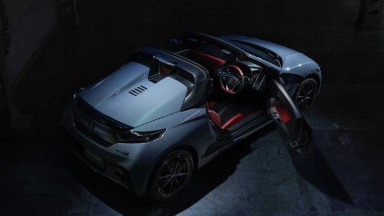Honda выпустила стильную версию S660 (фото)