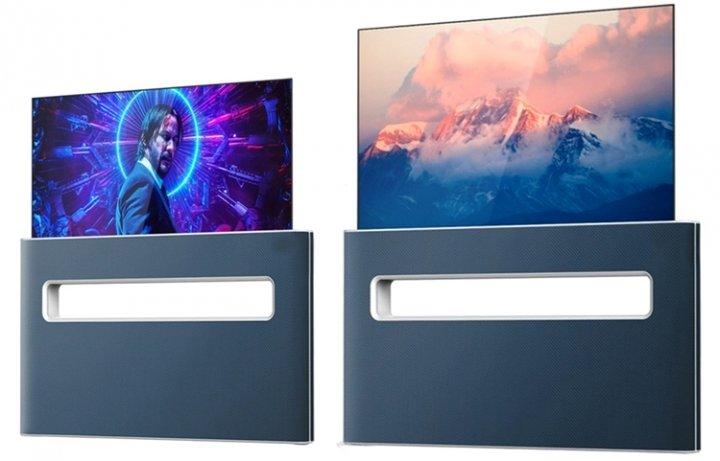 LG придумала телевизор с выдвигающимся экраном и демонстрационным окном