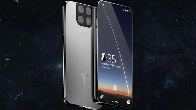 В Сети засветился первый смартфон компании Илона Маска Tesla (фото)