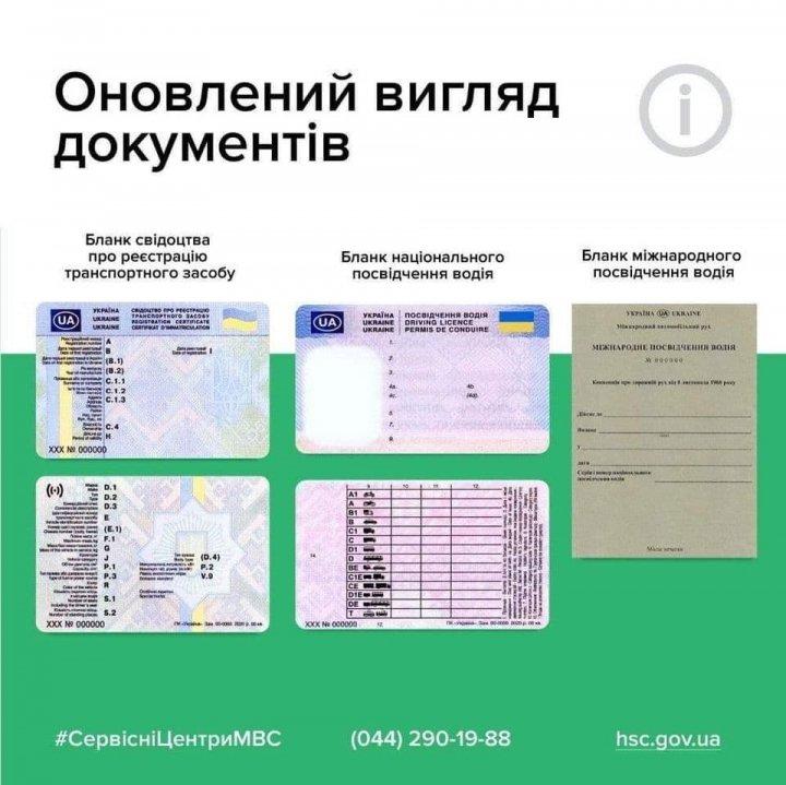 В Украине начали выдавать водительские удостоверения нового образца