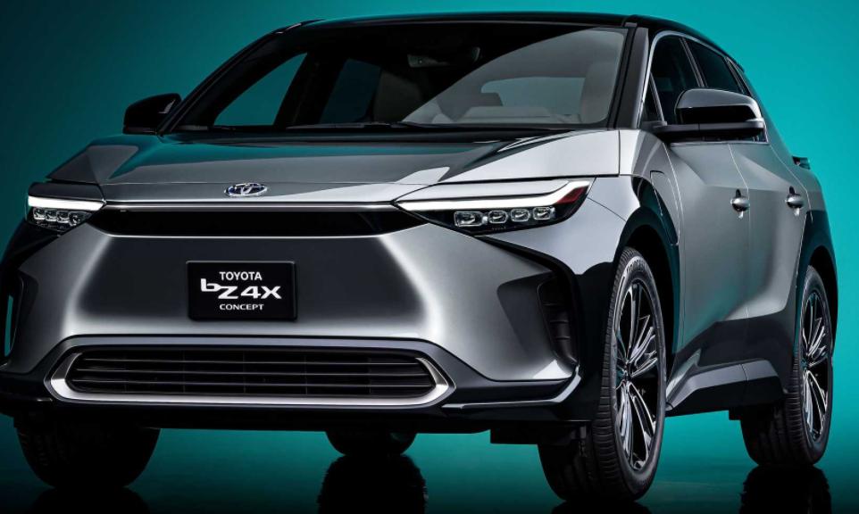 Toyota презентовала электрический кроссовер bZ4X