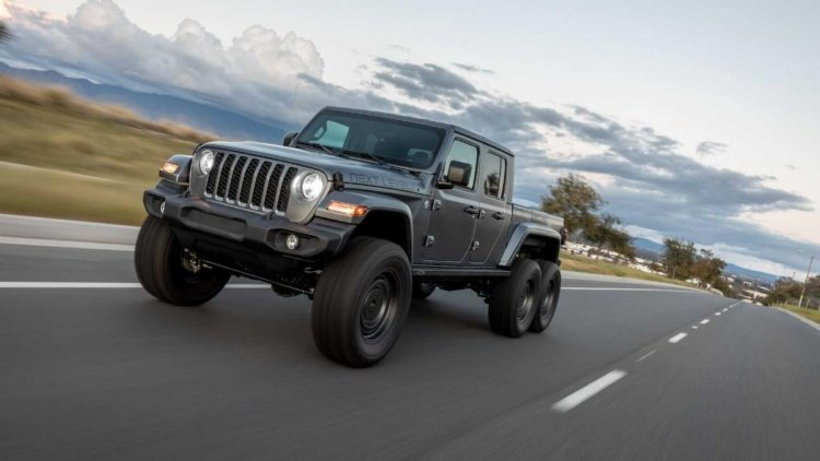 Jeep Gladiator получил новую экстремальную версию 6 х 6 (фото)