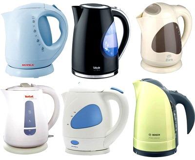 Основные и дополнительные функции электрических чайников